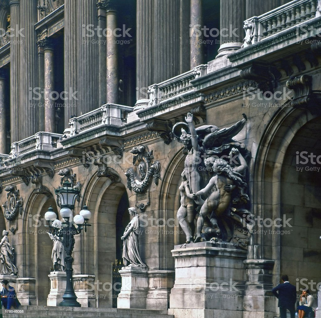 National Opera, Paris, France stock photo
