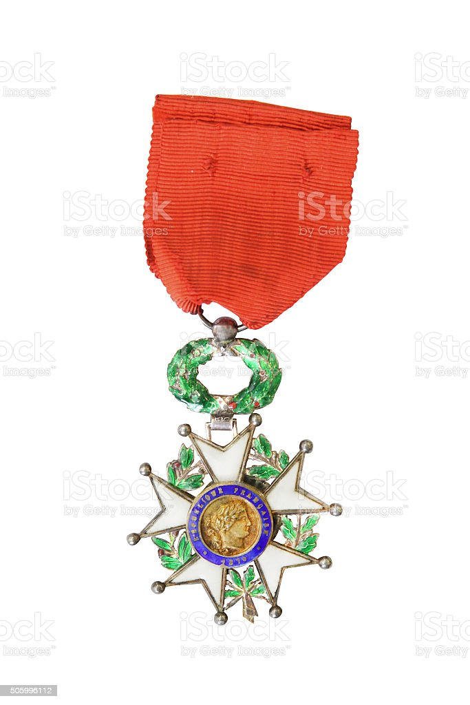 National Order of the Legion of Honour. France. Obverse stock photo