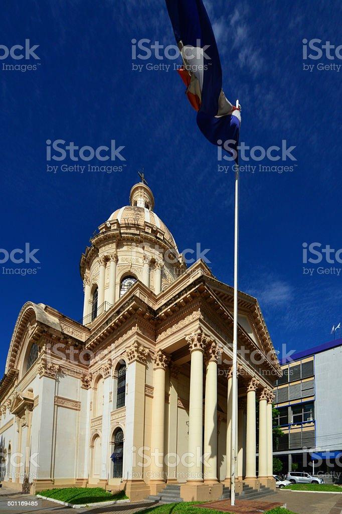 National Pantheon, Asuncion, Paraguay stock photo