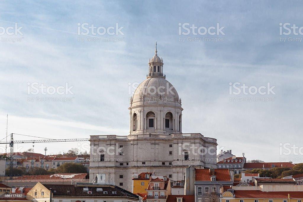 National Pantheon in Lisbon. stock photo