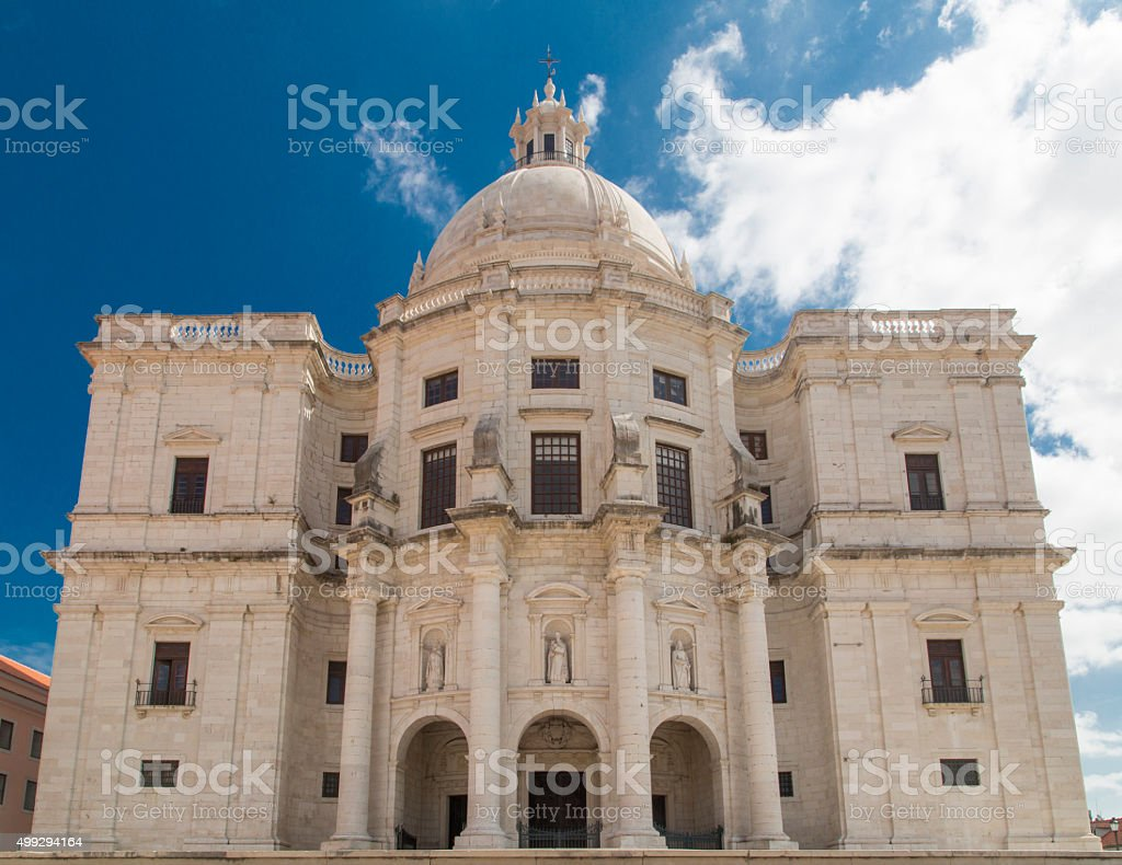 National Pantheon in Lisbon, Portugal stock photo