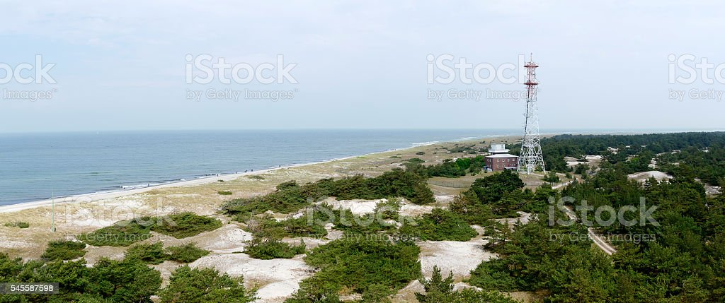 national park Darsser Ort stock photo