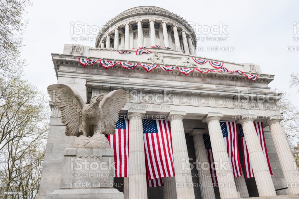 National Park General Grant National Memorial Architecture in NYC stock photo