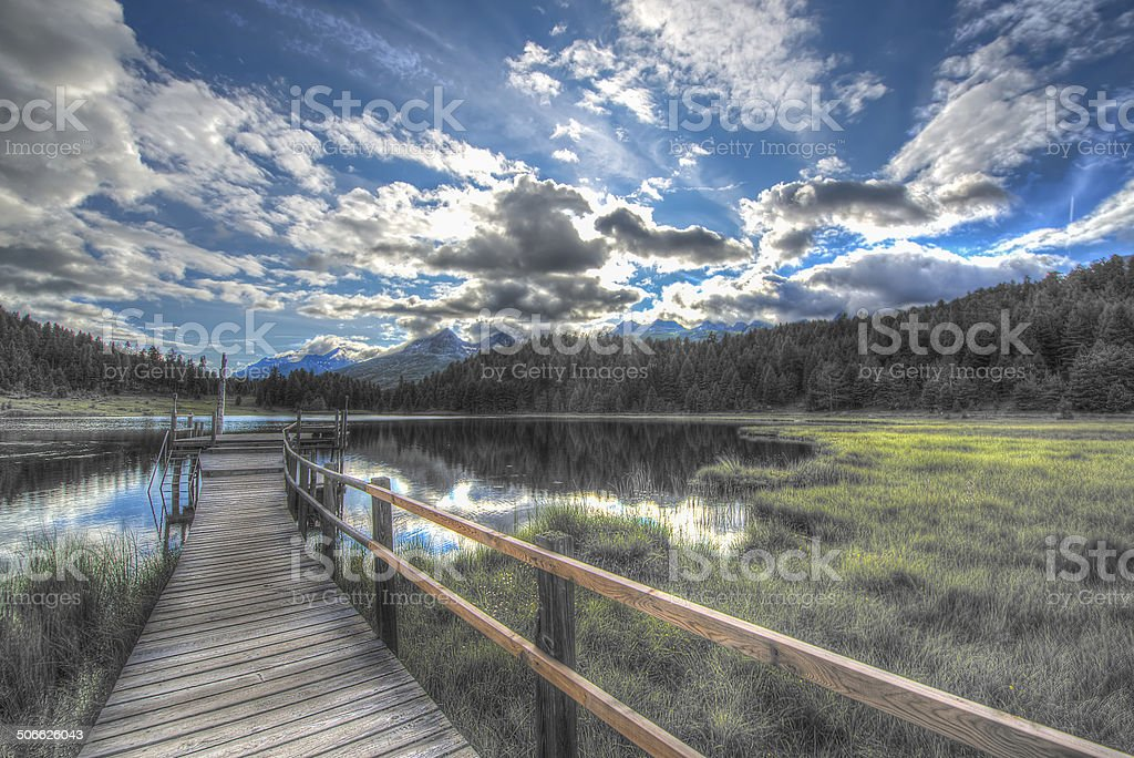 National Park - hdr image stock photo