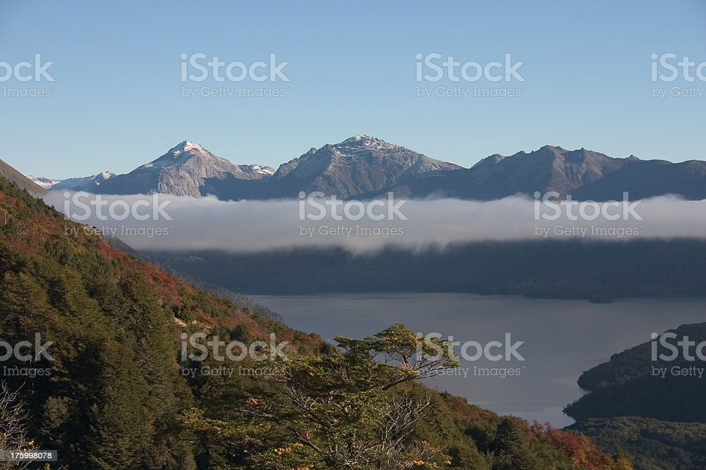 National park Nahuel Huapi royalty-free stock photo