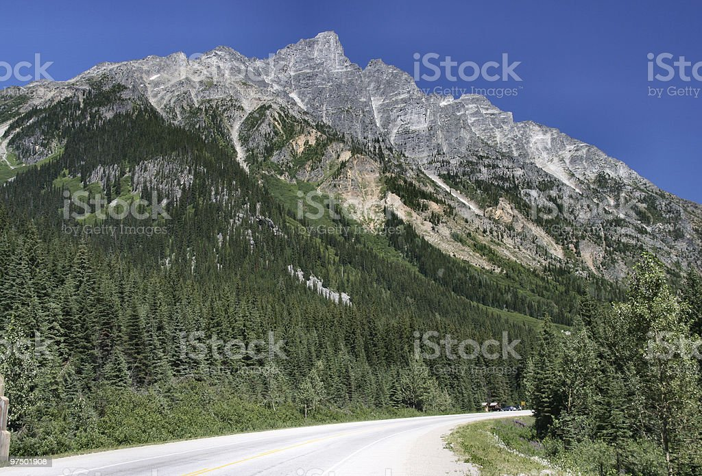 National Park of Canada royalty-free stock photo