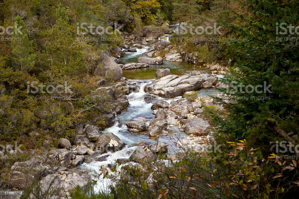 National Park of Gêres stock photo