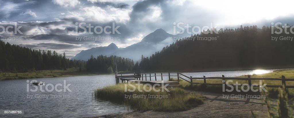 National Park - Panoramic image stock photo