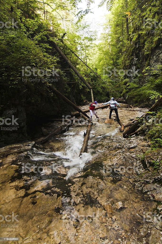National park  - Slovak paradise, Slovakia royalty-free stock photo