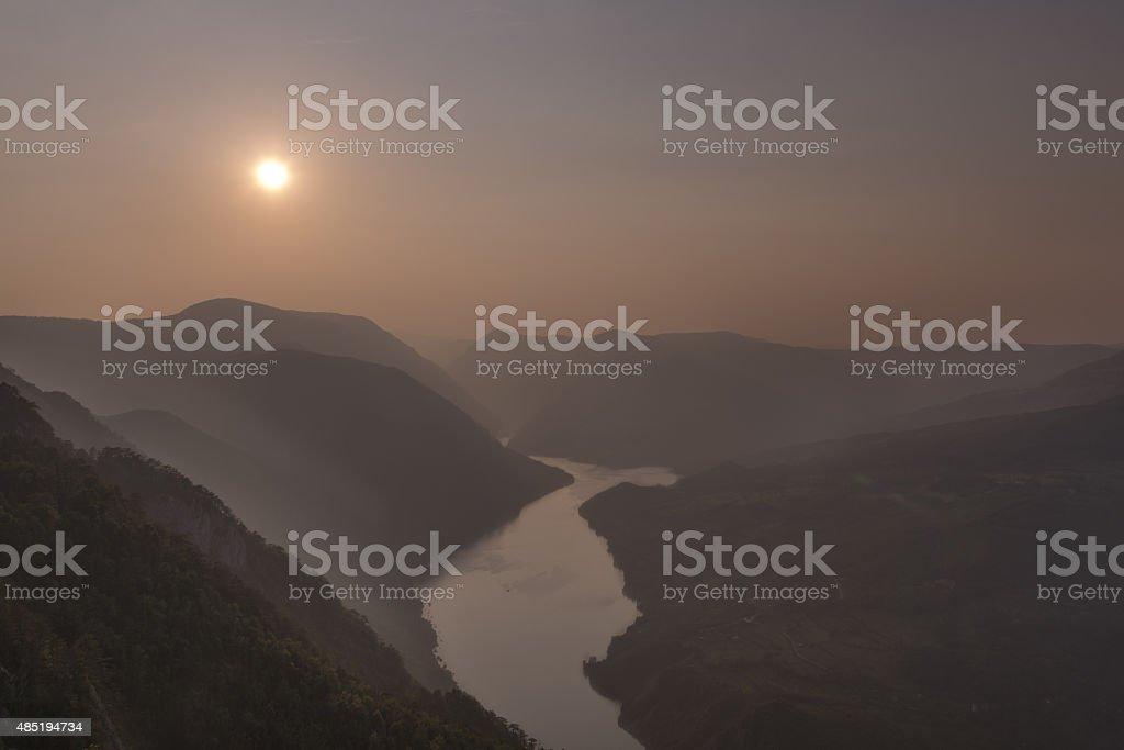 National Park Tara stock photo