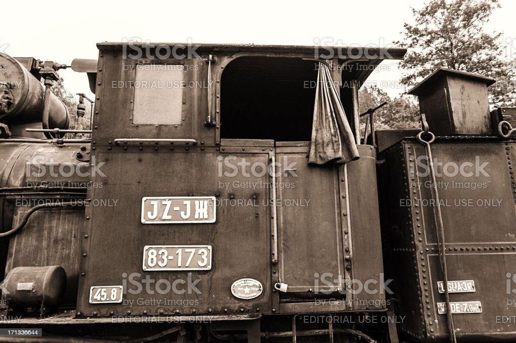 National Park Tara - Railroad Station Mokra Gora stock photo