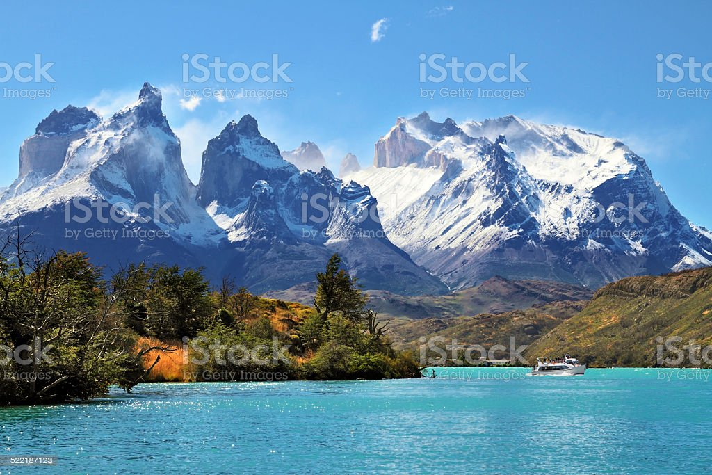 National Park Torres del Paine, Chile stock photo