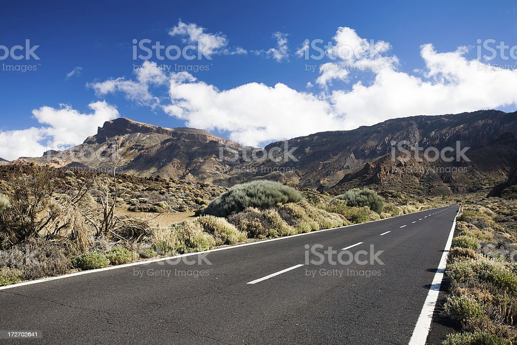 National Parl El Teide royalty-free stock photo