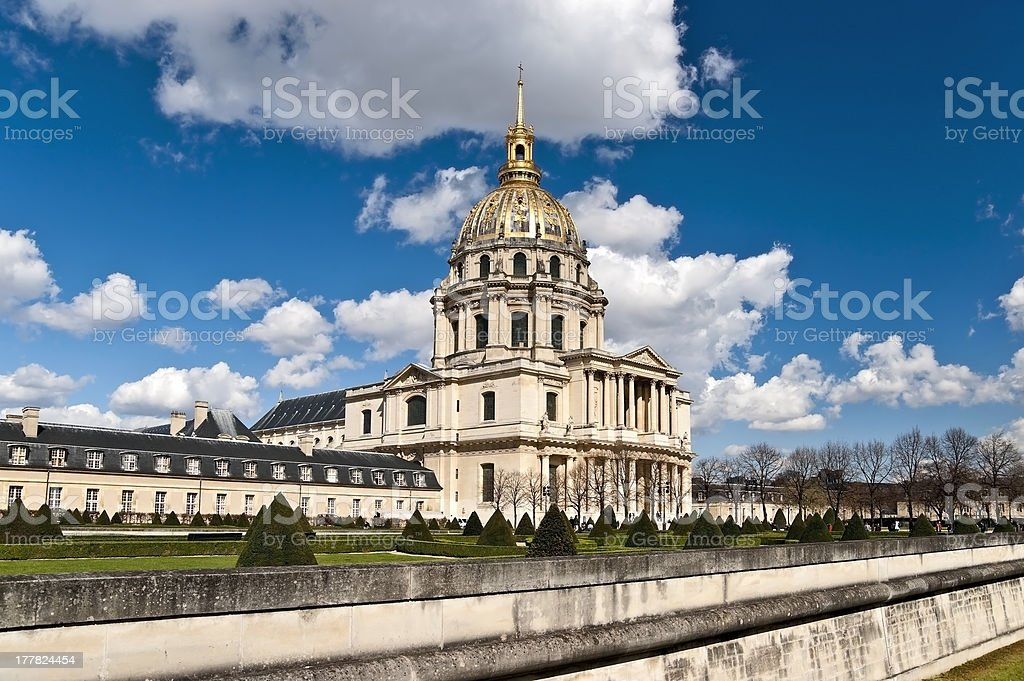 National Residence of the Invalids (Les Invalides) royalty-free stock photo