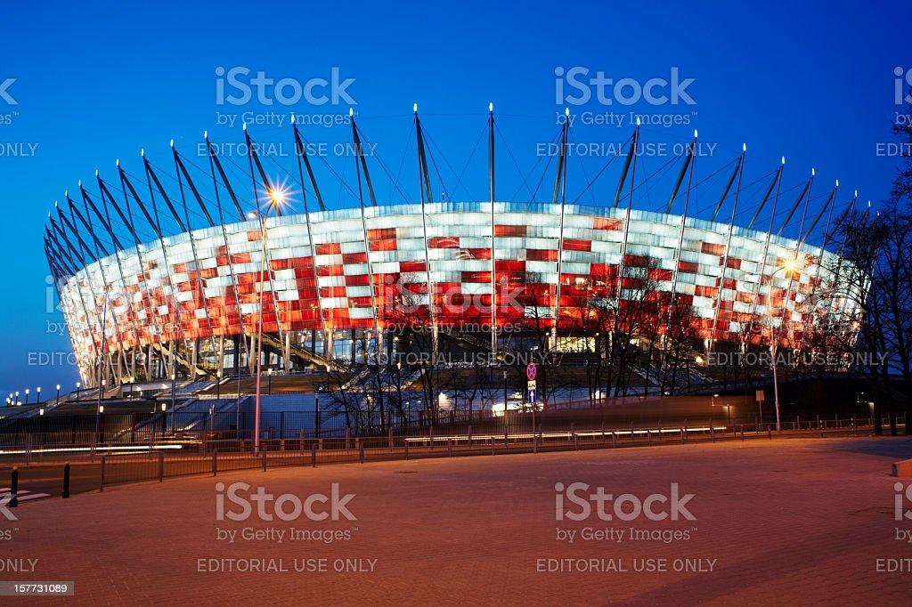 National Stadium stock photo