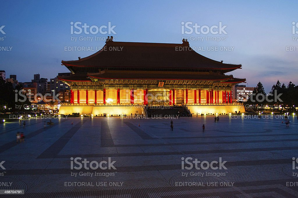 National Theater in Liberty Square, Taipei, Taiwan stock photo