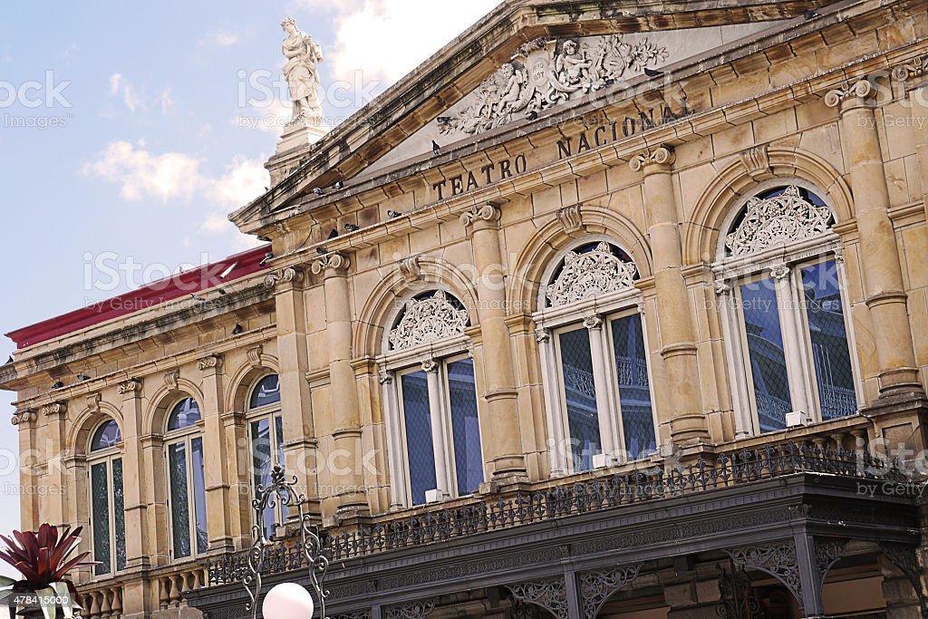 National Theater in San Jose, costa Rica stock photo