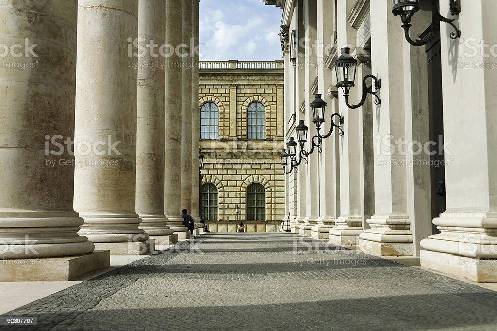 National Theater, Munich 3 stock photo