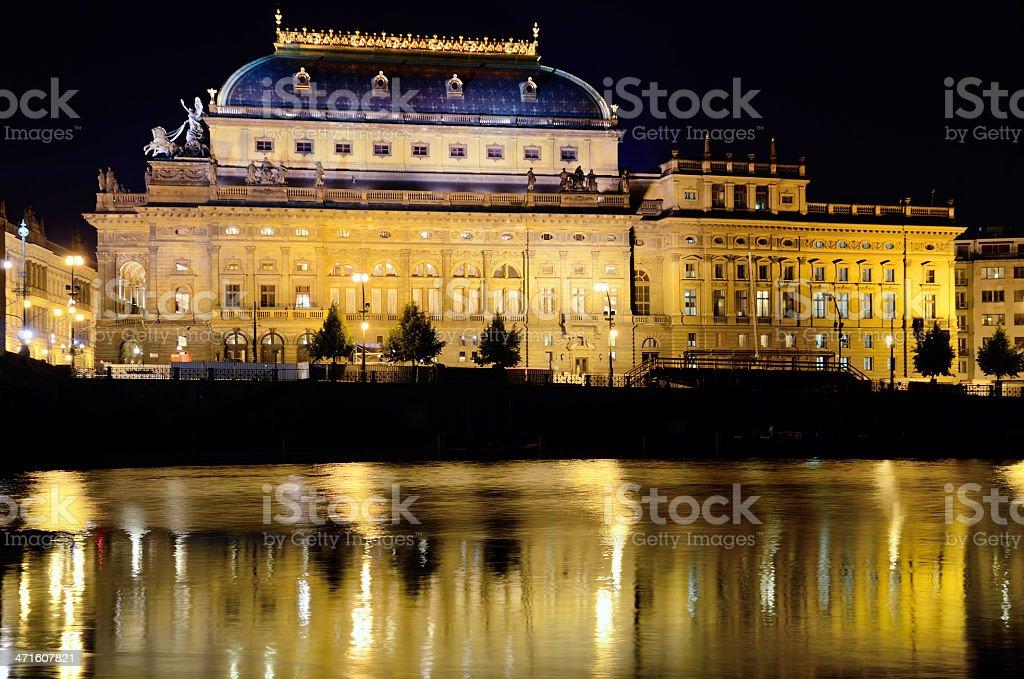National Theater, Prague, Czech Republic stock photo