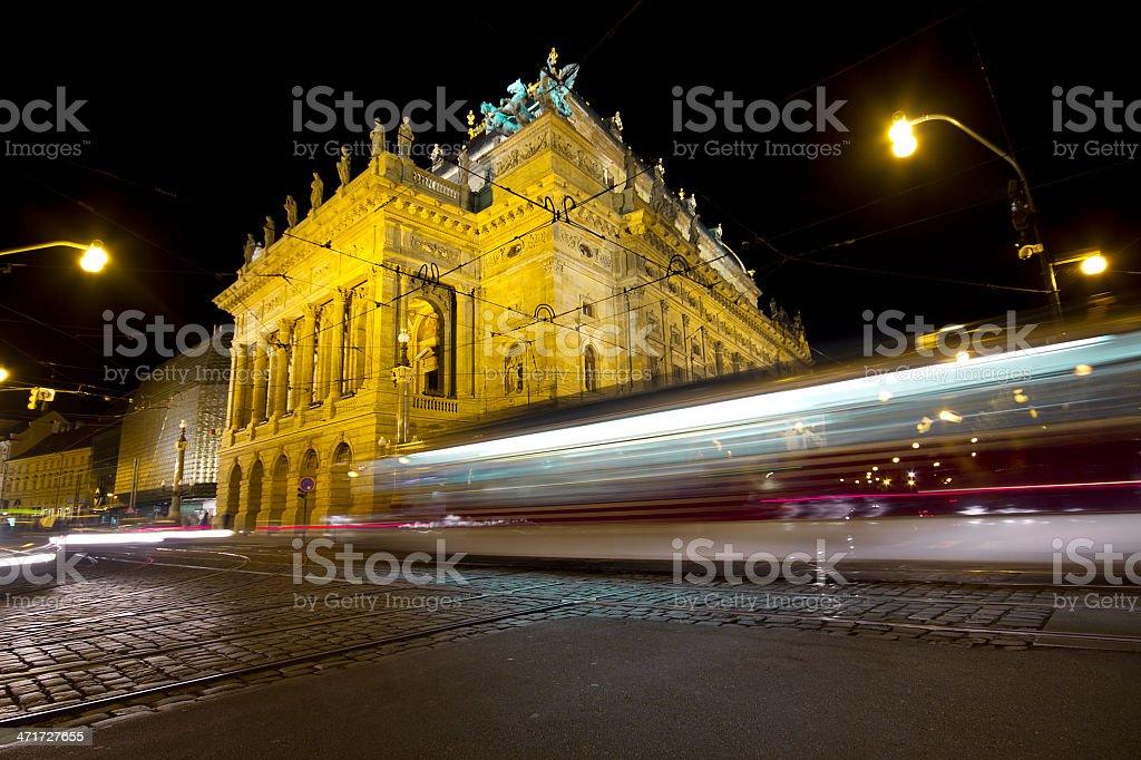 National Theater, Prague stock photo
