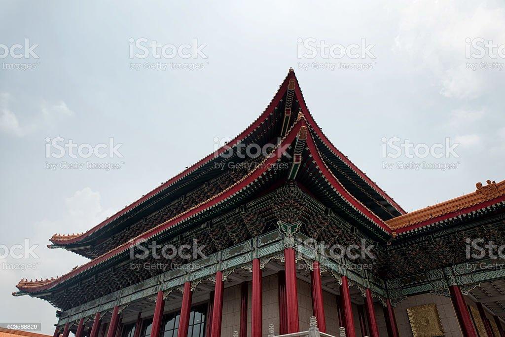 National Theatre of Taiwan in Liberty Square, Taipei, Taiwan. stock photo