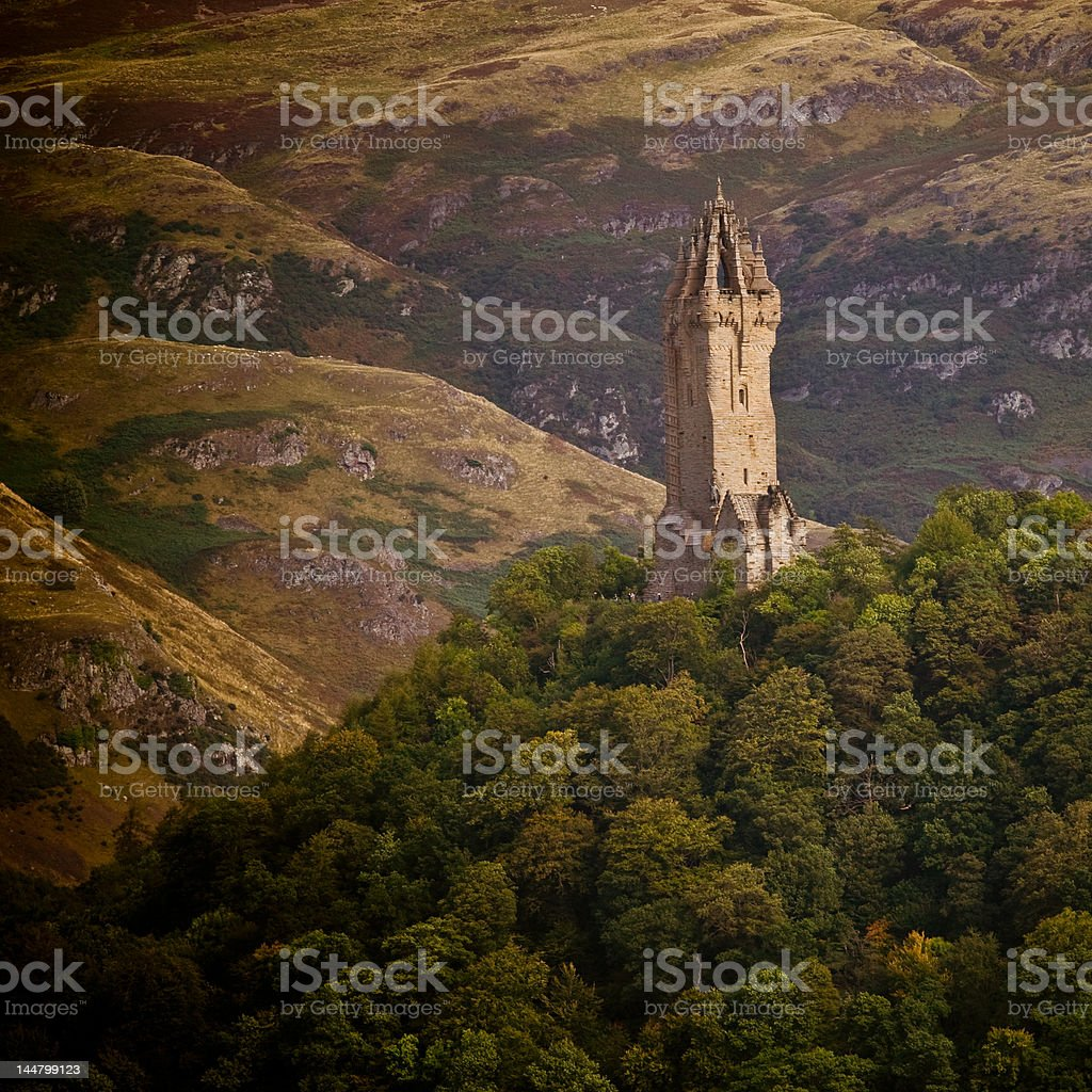 National Wallace Monument stock photo