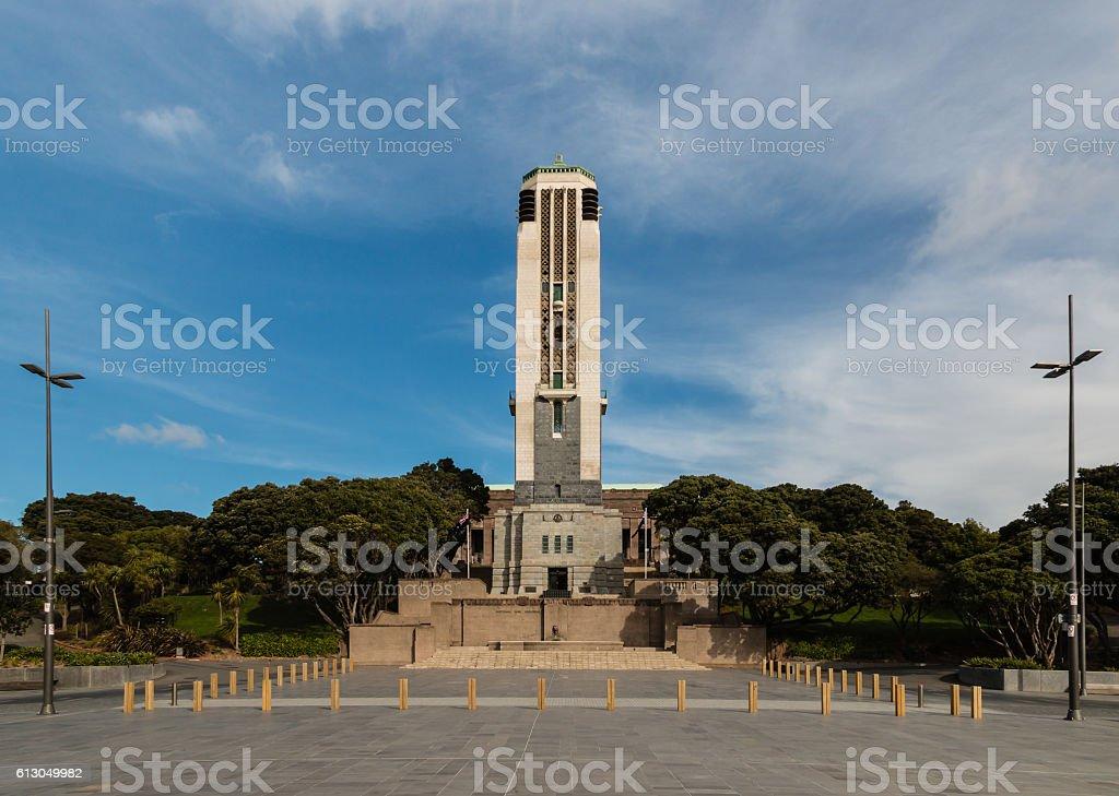 National War Memorial in Wellington stock photo