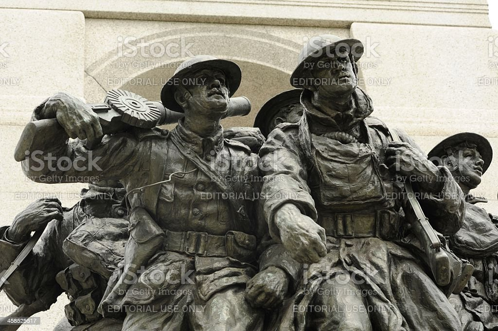 National War Memorial stock photo