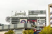 Nationals park building stadium