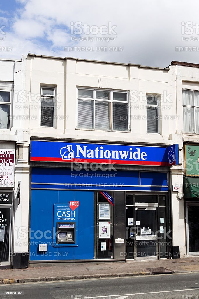 Nationwide Building Society stock photo