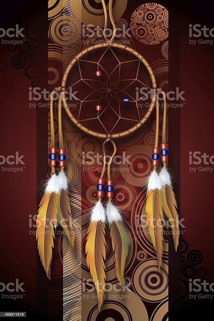 Native American Art stock photo