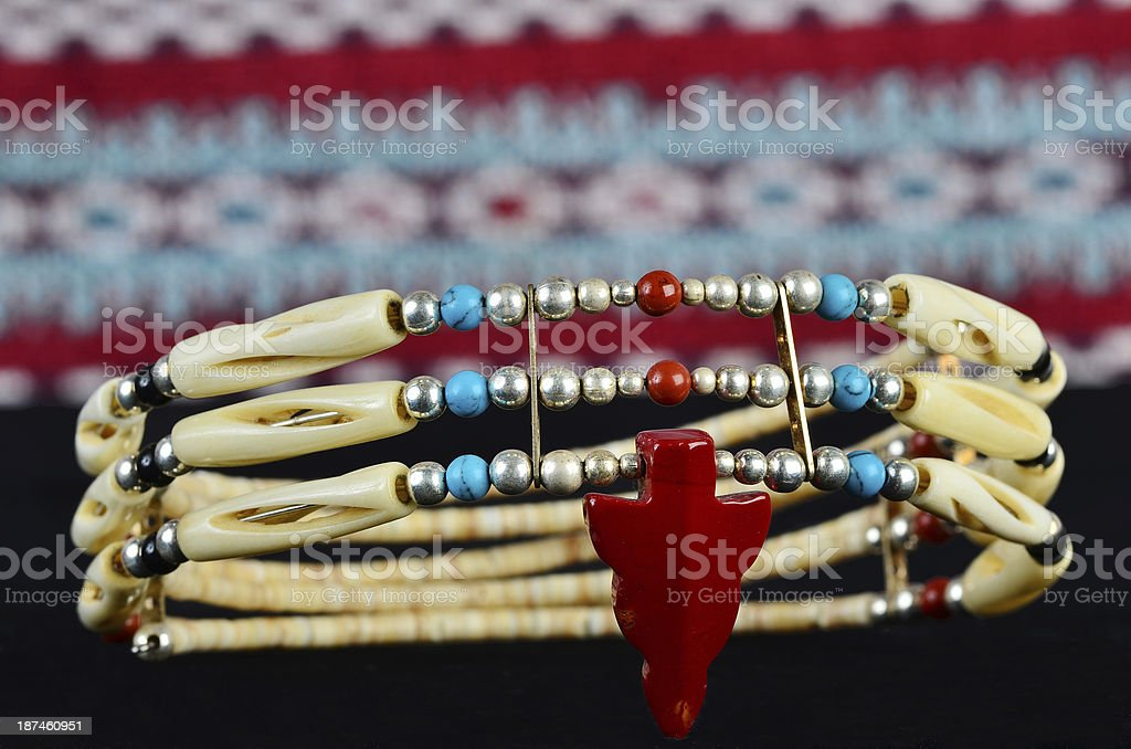 Native American Artifacts royalty-free stock photo