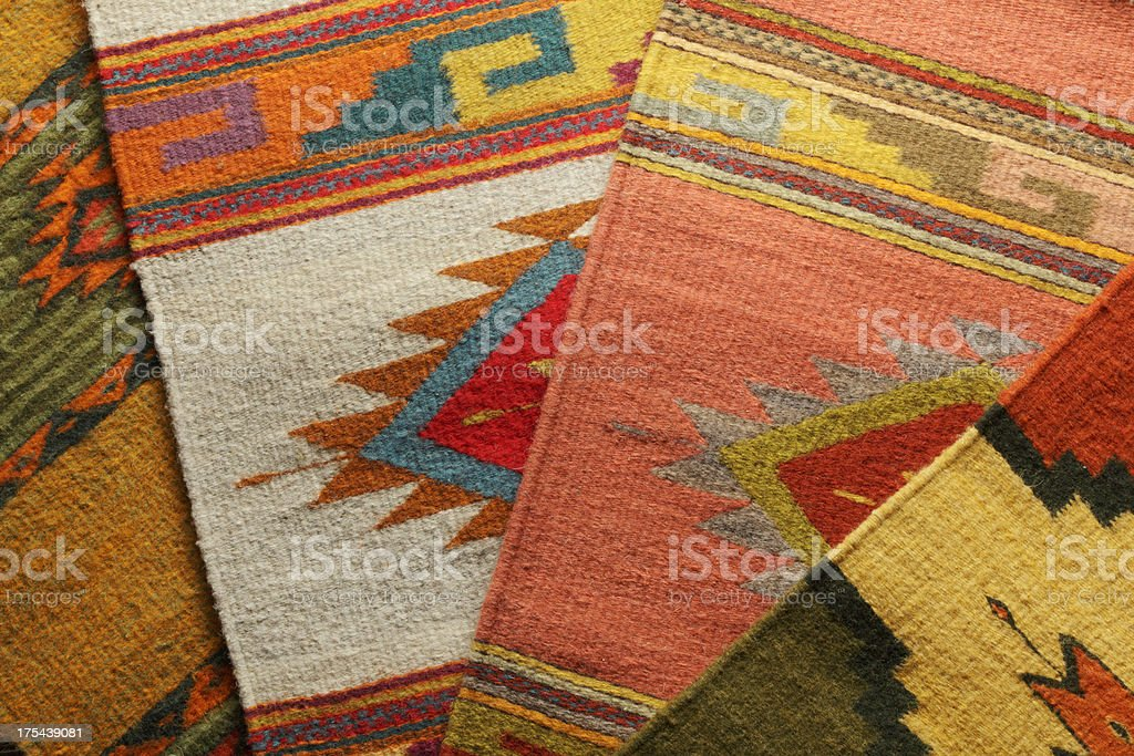 Native American Blankets stock photo