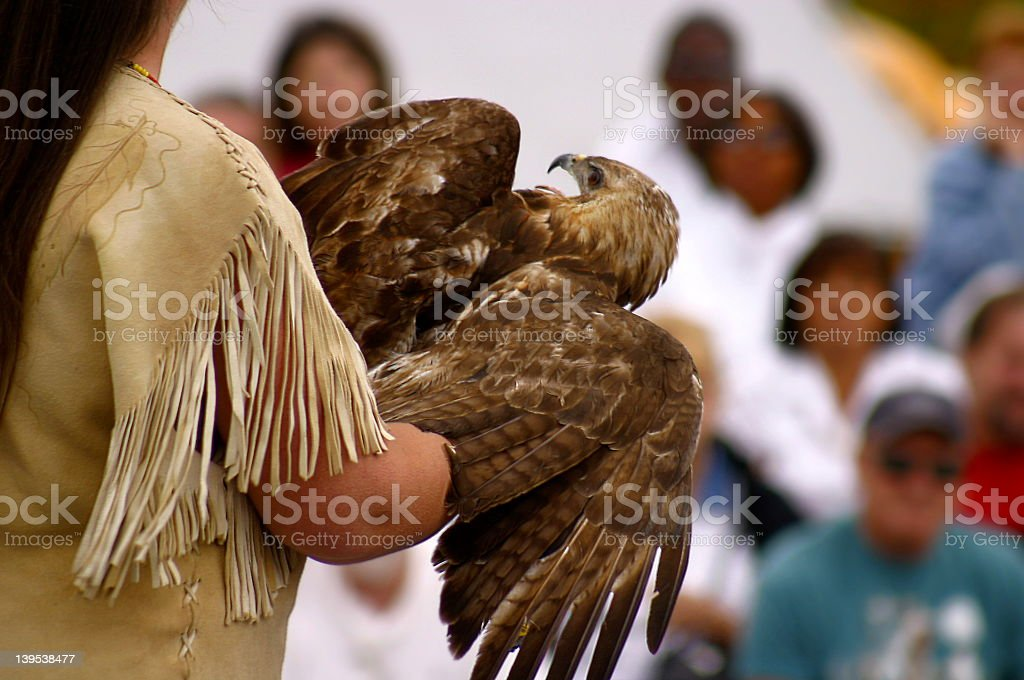 Native American Ceremony royalty-free stock photo