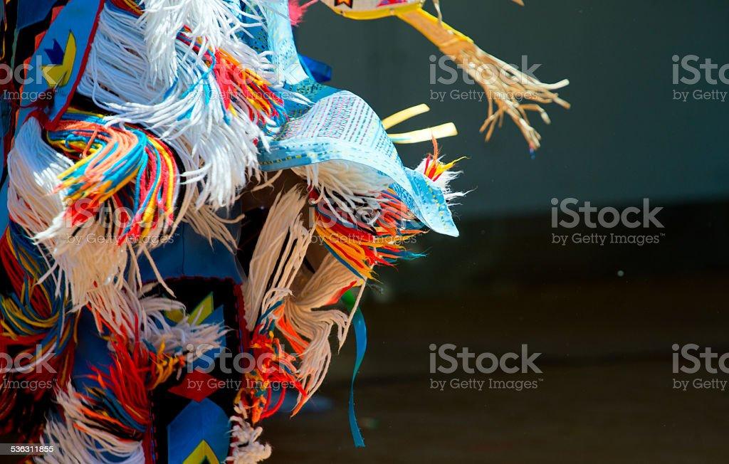 Native American dancer stock photo