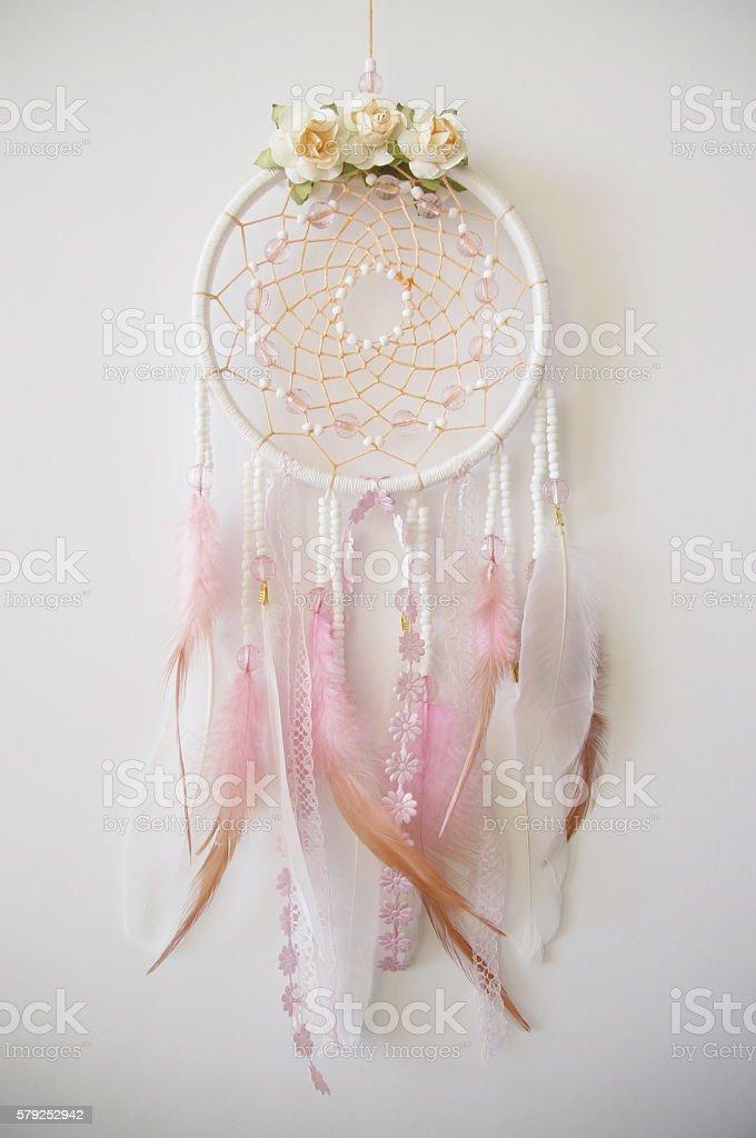 native american dreamcatcher stock photo