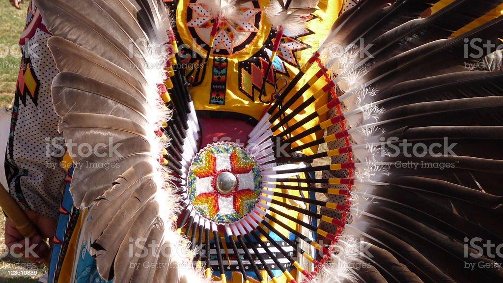 Native American Indian Regalia stock photo