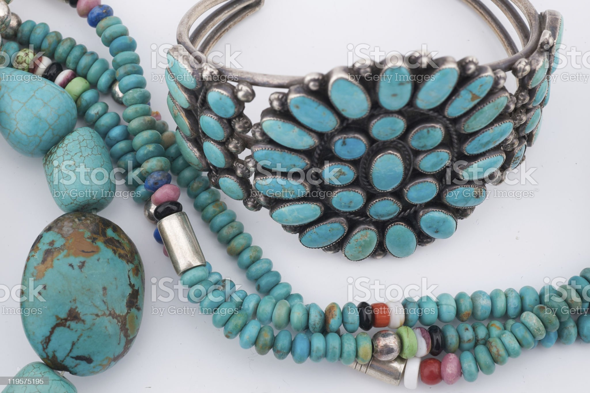 Native American Jewelry / Jewellery royalty-free stock photo