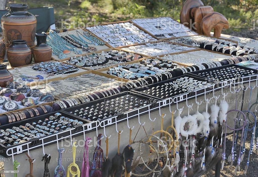 Native American Jewelry royalty-free stock photo