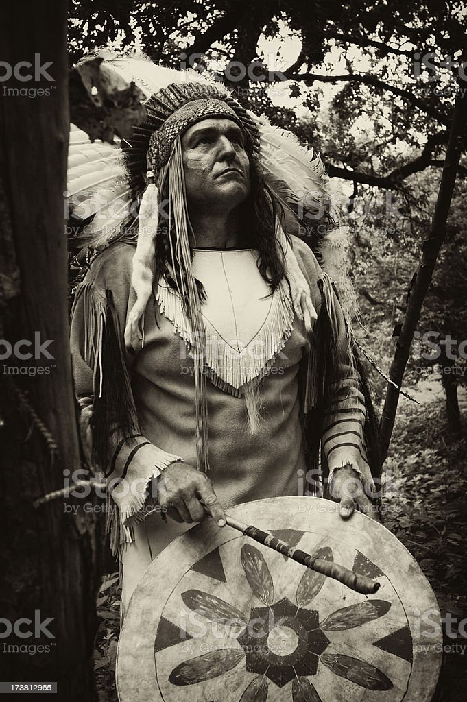 Native American royalty-free stock photo
