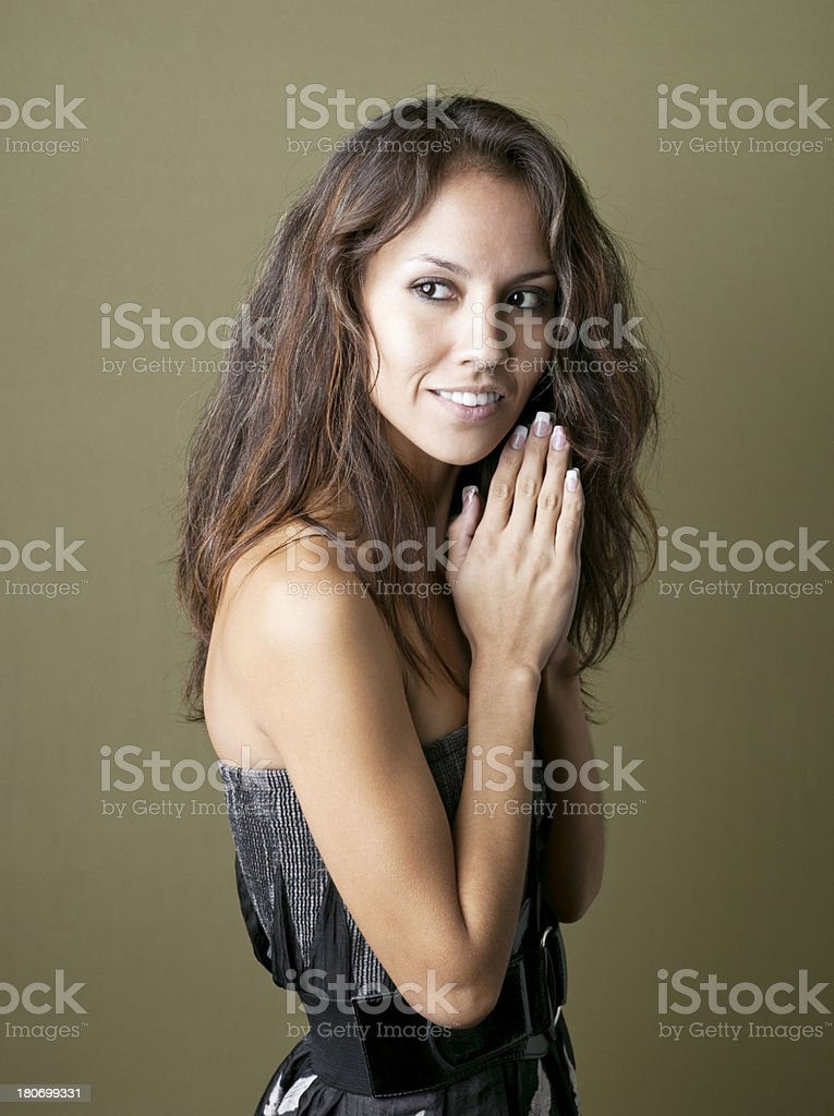 Native American Woman royalty-free stock photo