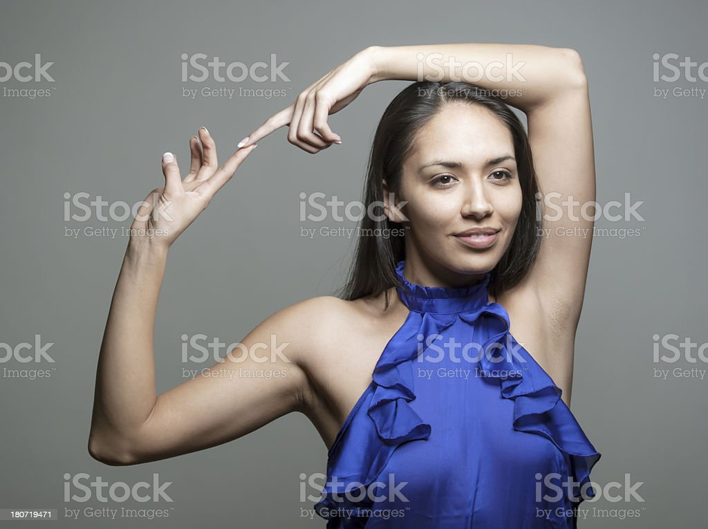 Native American Woman royalty-free stock photo