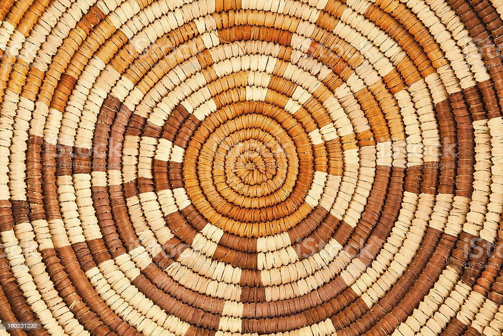 Native American Woven Background Pattern stock photo