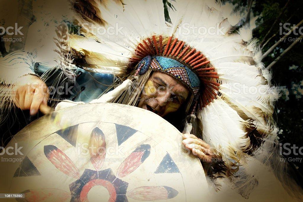 Native Beat royalty-free stock photo