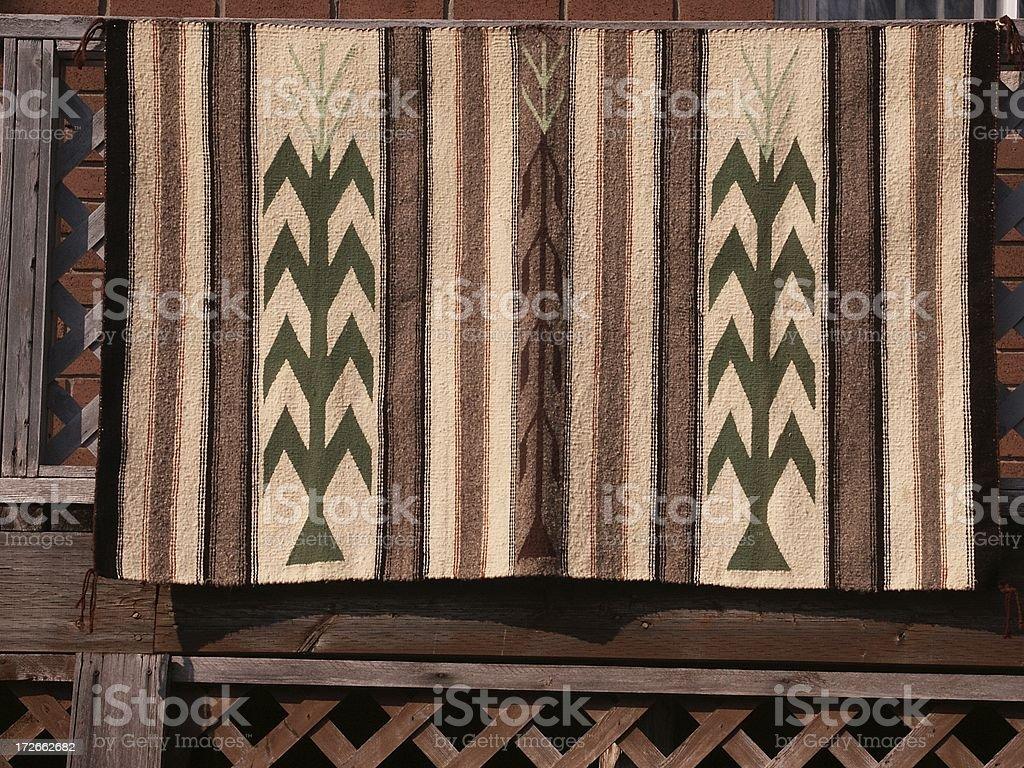 "Native Blanket ""Corn"" royalty-free stock photo"