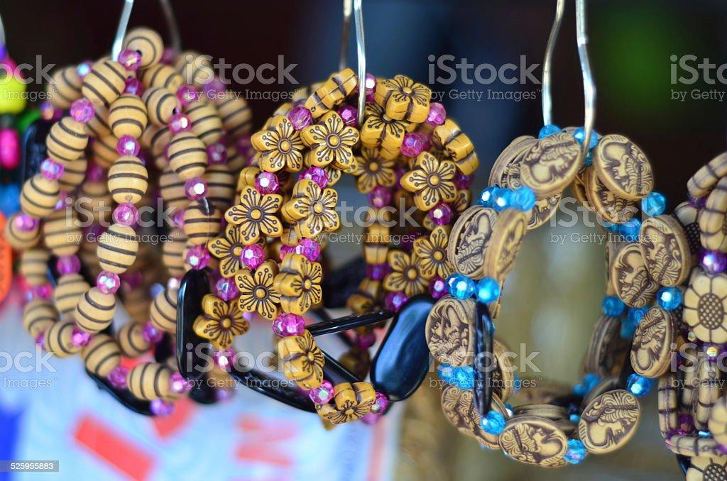 Native Bracelets stock photo