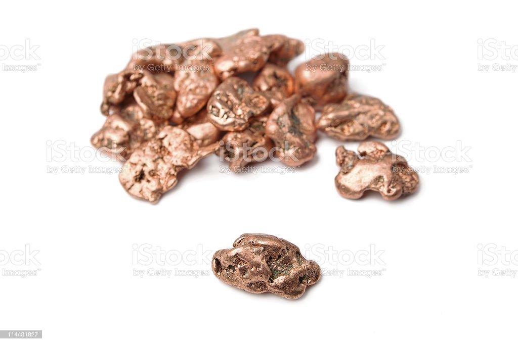 Native Copper stock photo