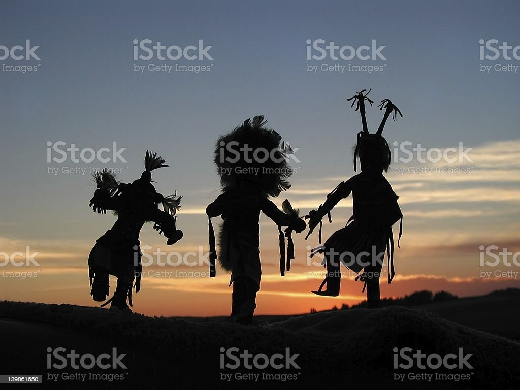 Native Spirits stock photo