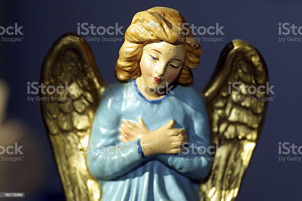 Nativity Angel royalty-free stock photo