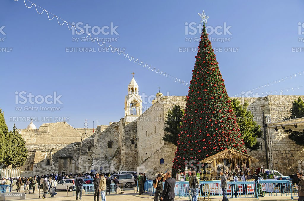 Nativity church, Bethlehem, Palestine, royalty-free stock photo